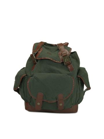 OTLS Unisex Olive Green Backpack