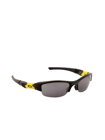 Oakley Men Black Fast Jacket Sunglasses