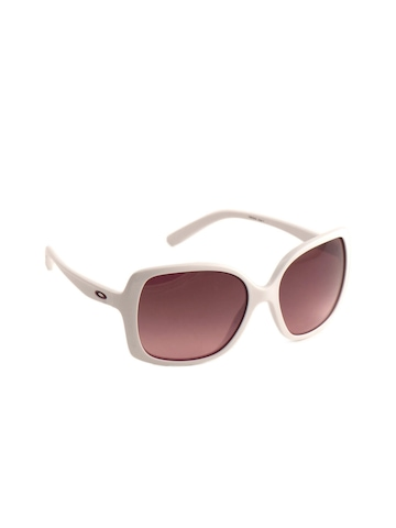 Oakley Women White Beckon Sunglasses