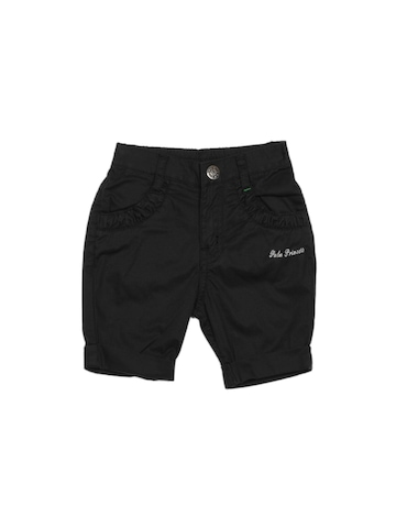 Gini and Jony Kids Girls Black Capris