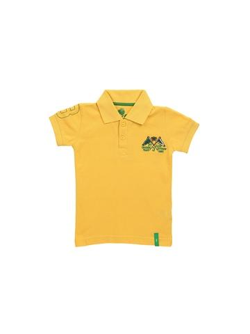 Gini and Jony  Boys Yellow T-shirt