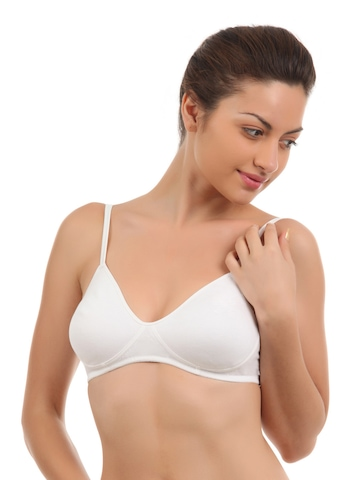 Peri Peri Women White Bra