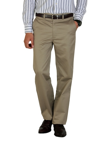 Peter England Men Khaki Trousers