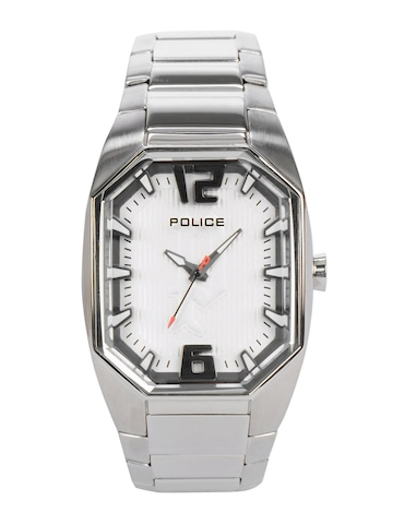 Police Women White Dial Watch