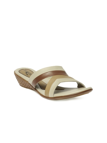 Portia Women Brown Wedges