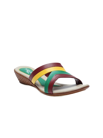 Portia Women Multi Coloured Wedges