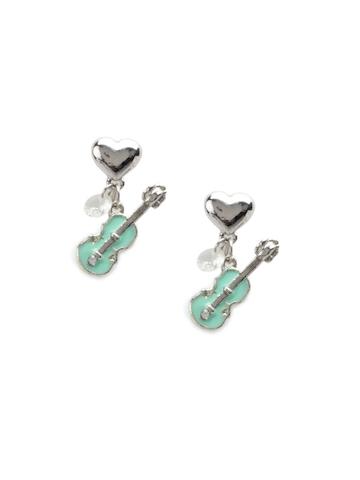 Pretty Women Green Earrings
