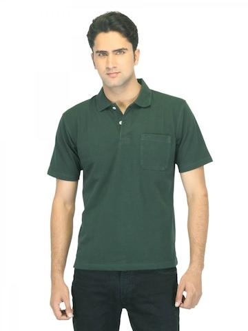 Proline Men Green T-shirt