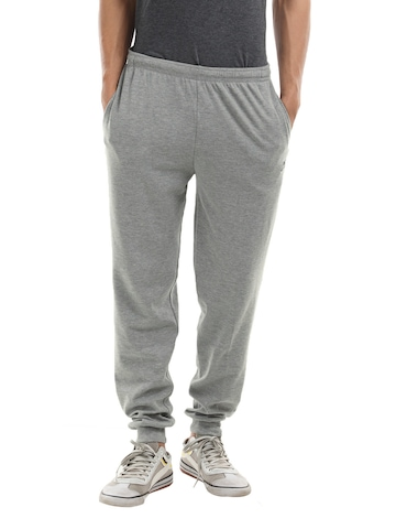 Proline Men Grey Melange Track Pants