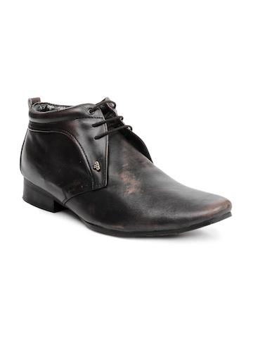 Provogue Men Black Shoes