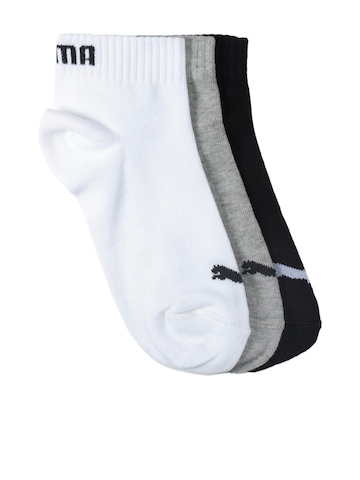 Puma Kids Unisex Pack Of 3 Socks