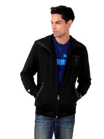 Puma Men Ferrari Black Jacket