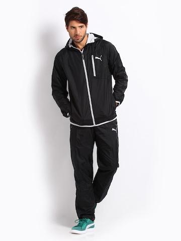 buy puma men black tracksuit 524 apparel for men 170974