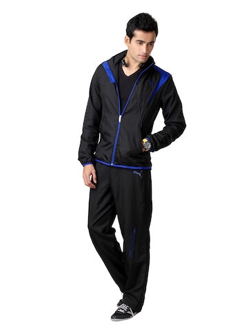 Puma Men Black Tracksuit