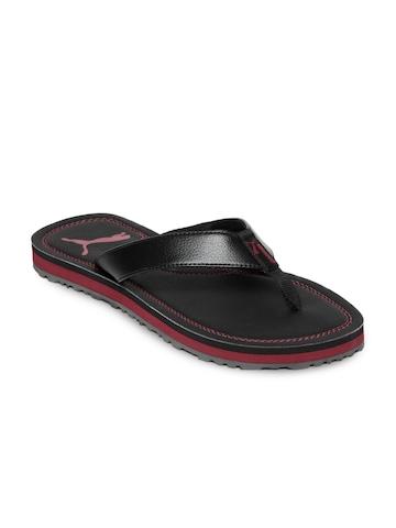 Puma Men Tango II Black Flip Flops