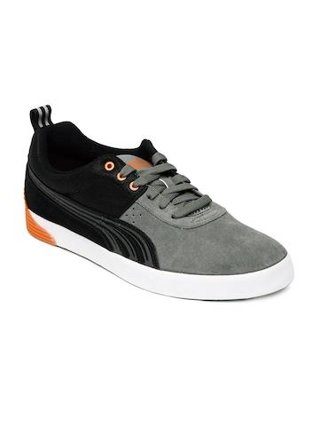 buy puma men grey grimme lo driver sign s casual shoes