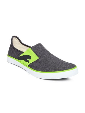 Puma Men Grey Lazy Slip On Casual Shoes