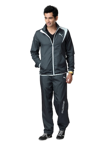 Puma Men Grey Tracksuit