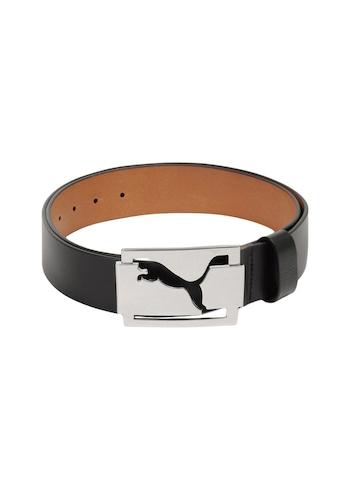 Puma Men High Shine Black Belt