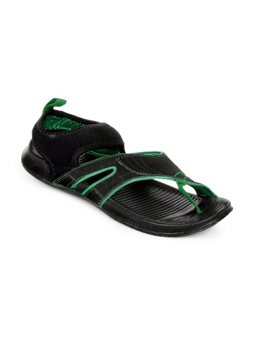 Puma Men Black Jiff II Ind Sports Sandals