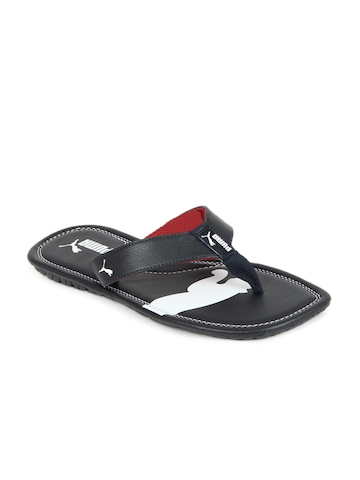 Puma Men Navy Blue Drifter Cat II Flip Flops