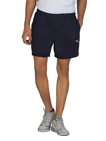 Puma Men Navy Blue Shorts
