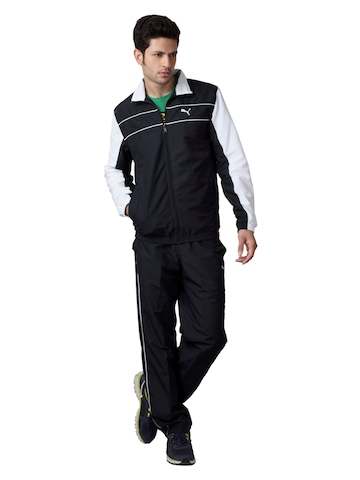 Puma Men Navy Blue Tracksuit