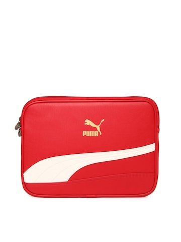 Puma Unisex Red Laptop Sleeve