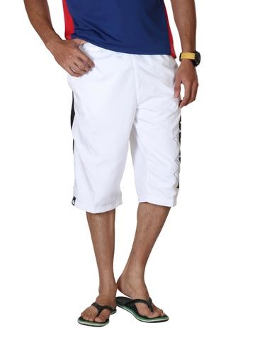 Puma Men White Shorts
