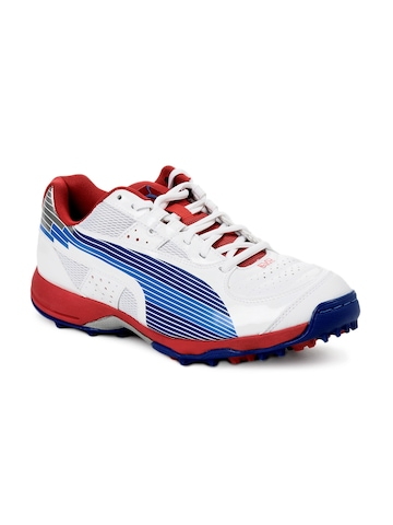 Puma Men Evo Speed White Sports Shoes