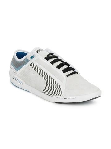 Puma Men White Street Tuneo Low Shoes
