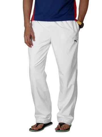 Puma Men White Track Pants