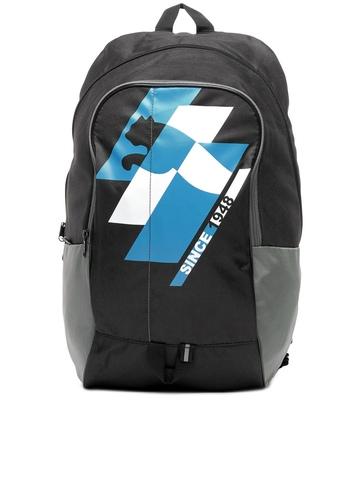 Puma Unisex Black Flow Backpack
