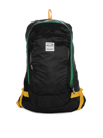 Puma Unisex Black Faas Backpack