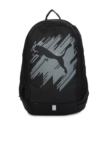 Puma Unisex Black Echo Backpack