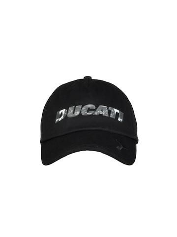 Puma Unisex Black Ducati Cap