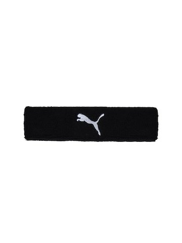 Puma Unisex Cat Black Headband