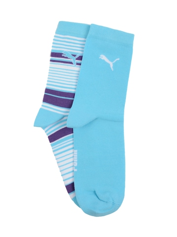 Puma Unisex Foundation Blue Socks