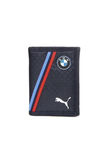 Puma Unisex Navy BMW Motorsport Wallet