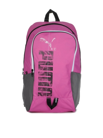 Puma Unisex Pink Flow Backpack