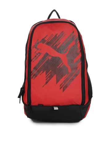 Puma Unisex Red Backpack