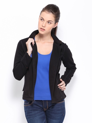 Puma Women Black Jacket