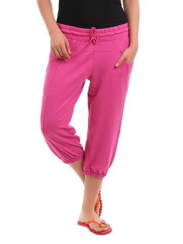 Puma Women Pink Capris