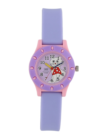 Q&Q Kids Unisex Purple Dial Watch