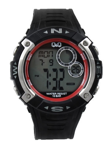 Q&Q Men Black Digital Watch M065-004