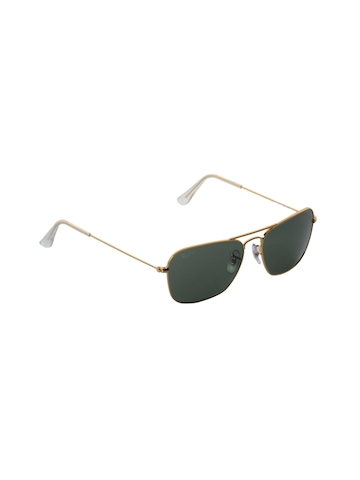 Ray-Ban Men Caravan Arista Gold Sunglasses