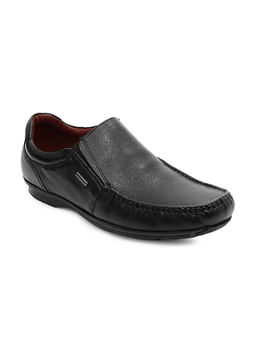 Red Tape Men Black Slip-On Formal Shoes