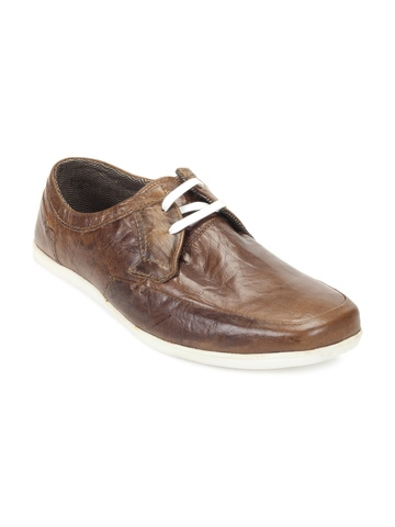 Red Tape Men Brown Shoes