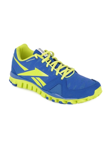Reebok Men Blue Realflex Transition 3.0 Sports Shoes