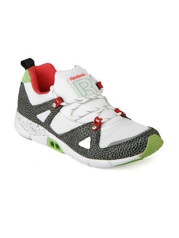 Reebok Men White & Grey Ventilator Hls Sports Shoes
